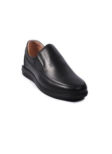 Ayakmod 472 Deri Erkek Günlük Ayakkabı Siyah